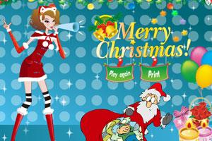 圣诞美眉可爱装