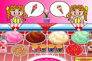 《彩虹冰淇淋店》游戏画面1
