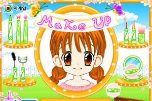 《MM学化妆》游戏画面1