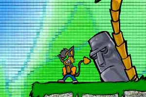 《小狼犬丛林冒险2》游戏画面1