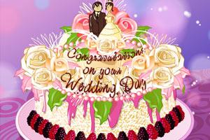 《梦幻婚礼蛋糕》游戏画面1