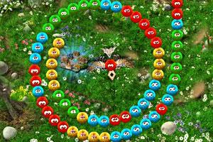 《可爱毛毛球祖玛》游戏画面1