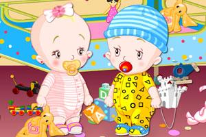 《双胞胎宝贝》游戏画面1