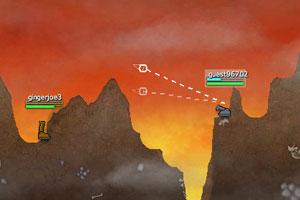 《百战天虫坦克版》游戏画面1