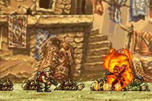 《疯狂合金弹头3修改版》游戏画面1