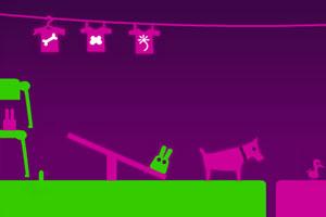 《长耳朵小绿怪》游戏画面1