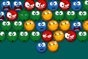 《台球泡泡龙》游戏画面1