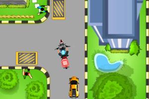 《骑摩托送比萨》游戏画面1