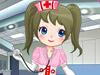 甜美小护士