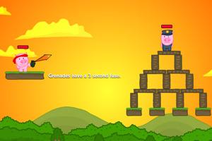 《小猪弓箭手》游戏画面1