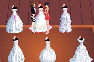 《时尚婚纱专卖》游戏画面1