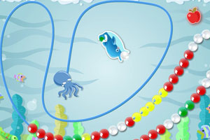 《海豚祖玛》游戏画面1