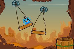 《小熊进木桶2》游戏画面1