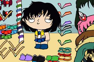 《恶搞美少女战士》游戏画面1