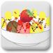 香蕉草莓冰激凌