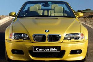 时尚黄色汽车拼图