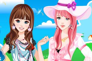 《艾丽贝拉的春装》游戏画面1