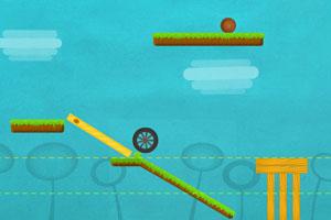 《小球拆建筑修改版》游戏画面1