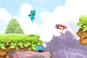 《蓝色精灵冒险无敌版》游戏画面1