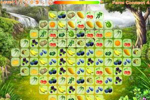 《农场水果连连看4》游戏画面1