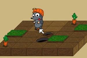 《贪吃的鼹鼠》游戏画面1