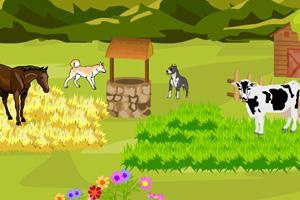 《布置我的美丽农场》游戏画面1