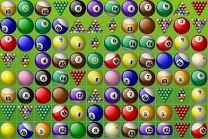 《桌球连连看》游戏画面1