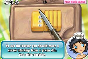 《生日奶油蛋糕》游戏画面1