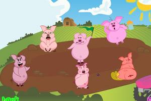 《哪只小猪放屁了》游戏画面1
