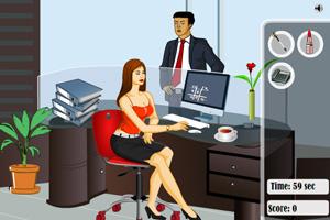 《安妮办公室偷懒》游戏画面1