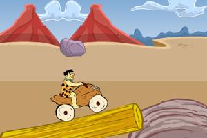 《摩登原始人石器赛车2》游戏画面1