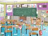 教室大扫除1
