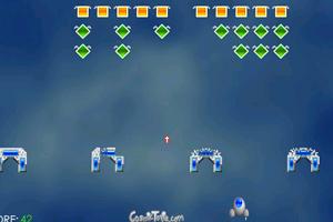 《太空的入侵者》游戏画面1