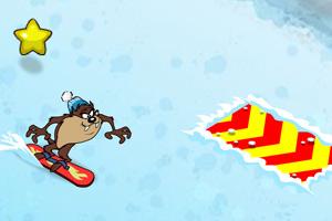 《大嘴怪滑雪》游戏画面1