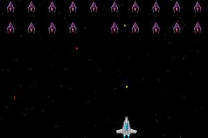 《消灭侵略者》游戏画面1