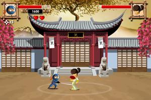 《忍者斗恶棍》游戏画面1