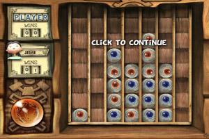 《经典四子棋》游戏画面1