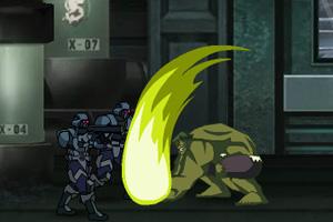 绿巨人对超级英雄