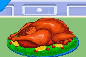 感恩节火鸡宴