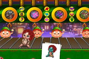 《圣诞玩具工厂》游戏画面1