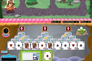 《登山消遣打牌》游戏画面1
