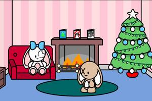 《比尼兔圣诞大冒险》游戏画面1