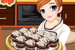 泰莎做纸杯蛋糕