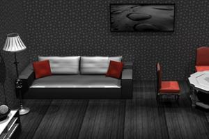 《逃出黑白客厅》游戏画面1
