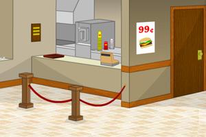《我要逃出汉堡店》游戏画面1