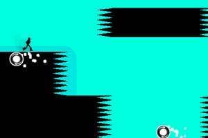 《奔跑在黑白世界》游戏画面1