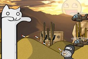《长猫历险2无敌版》游戏画面1