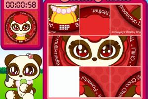 《熊猫素芝拼图版》游戏画面1