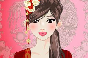《中国古代女孩》游戏画面1