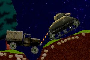 《坦克拖卡车》游戏画面1